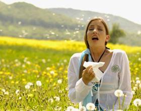 На что может быть аллергия в апреле