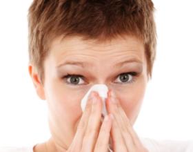 Аллергия в январе