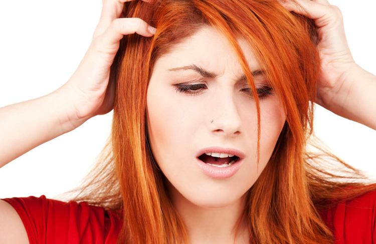 Зуд волос