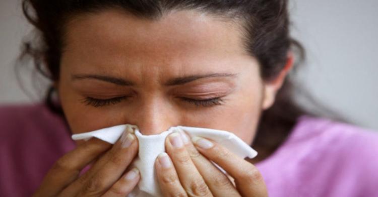 Насморк во время аллергии