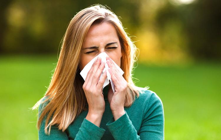 Ринит при аллергии