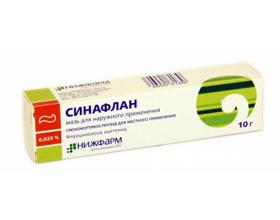 Мазь Синафлан: описание, показания, применение при аллергии