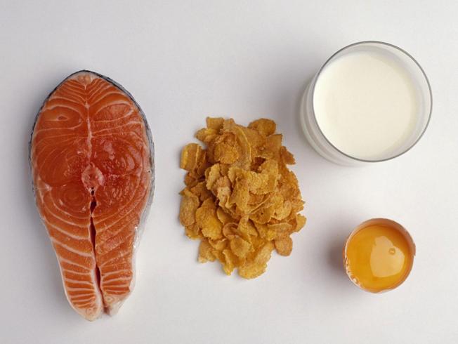 Пища с витамином D