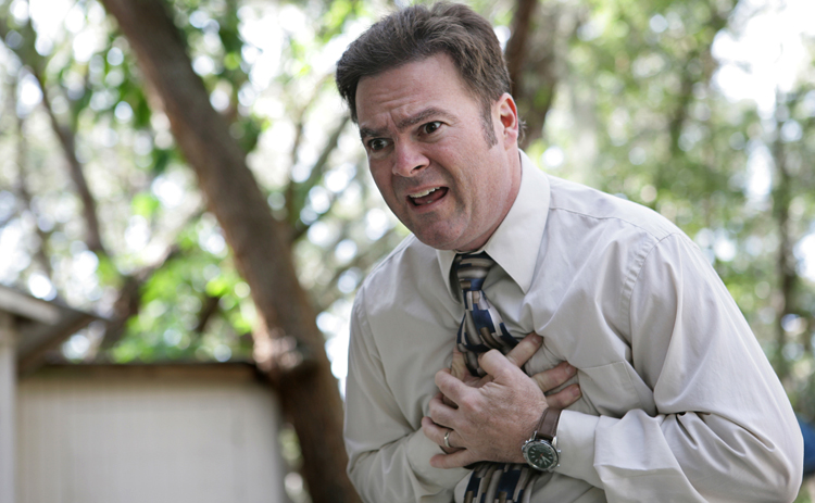 Проблемы с сердцем у мужчины