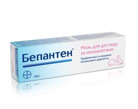 Бепантен от аллергии: состав, показания, инструкция