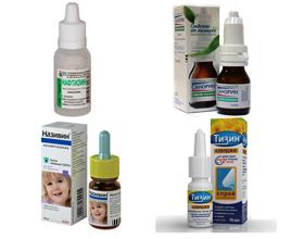 Капли в нос от аллергии: виды и особенности приема