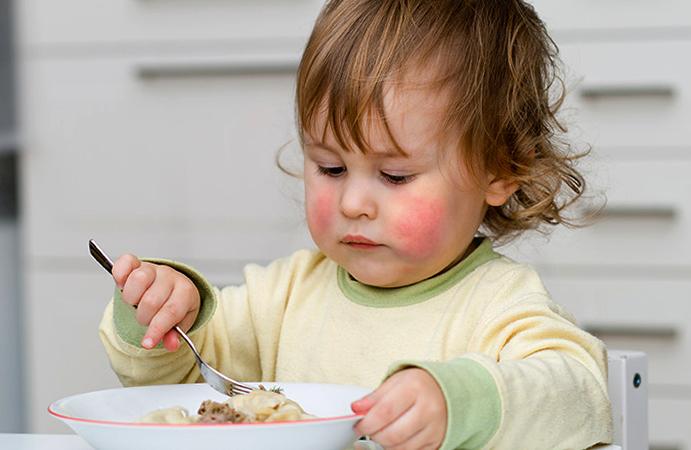 У ребенка аллергия