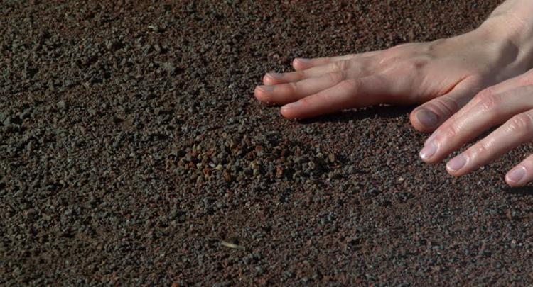 Руки на земле